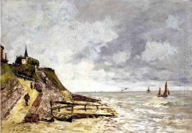 The Seine At Caudebec En Caux 1889