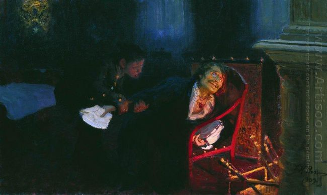 The Self Immolation Of Gogol 1909