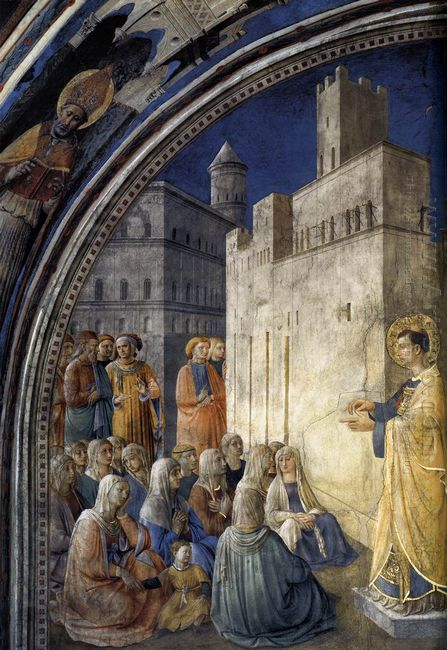 The Sermon Of St Stephen 1449