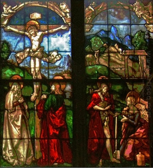 These Stained Glass Windows From The Eastern Side Of The Blumene
