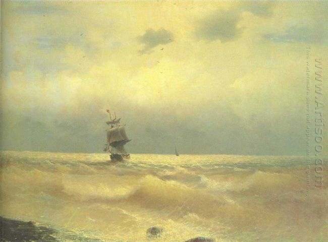 The Ship Near Coast 1890
