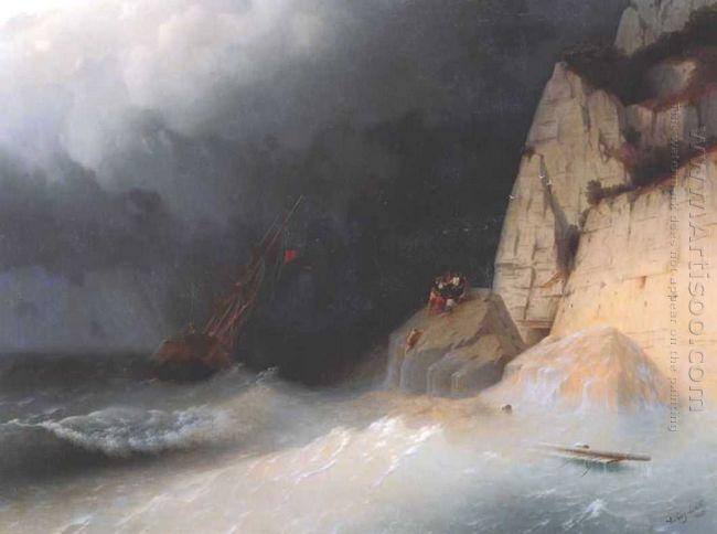 The Shipwreck 1865