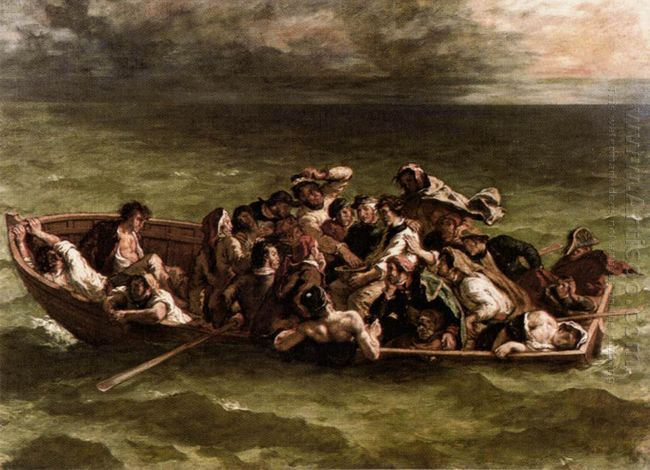 The Shipwreck Of Don Juan 1840
