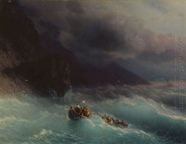 The Shipwreck On Black Sea 1873