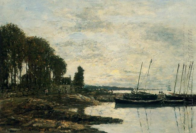 The Shore At Plougastel 1872