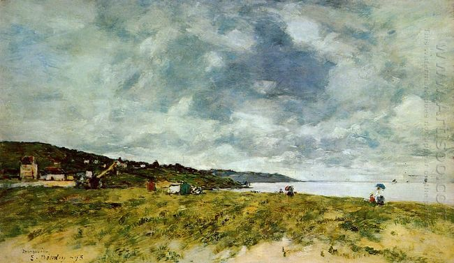 The Shore At Tourgeville 1893