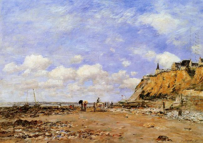The Shore At Villerville 1893
