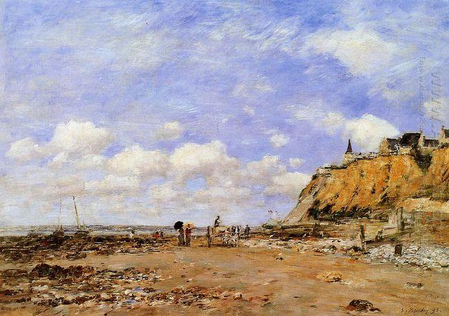 The Shore At Villerville 1893