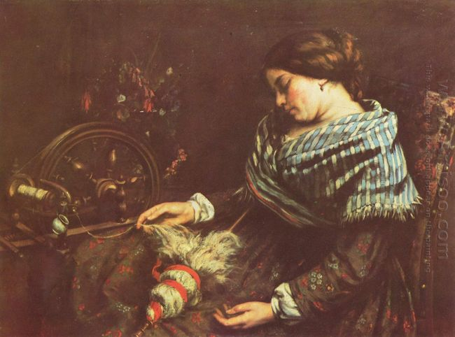 The Sleeping Embroiderer 1853