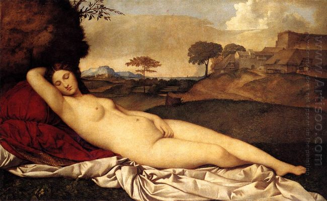 The Sleeping Venus 1510