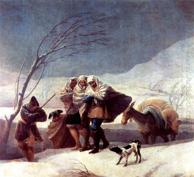 The Snowstorm Winter 1787