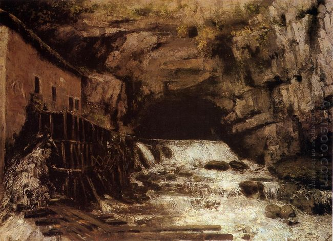 The Source Of The Loue 1864