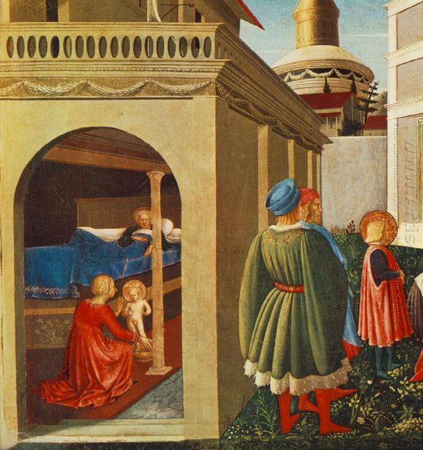 The Story Of St Nicholas Birth Of St Nicholas 1448