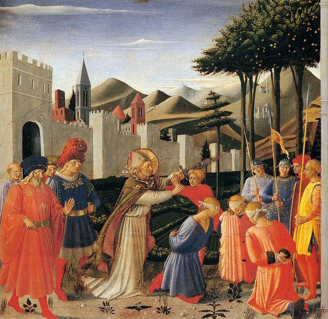 The Story Of St Nicholas The Liberation Of Three Innocents 1448