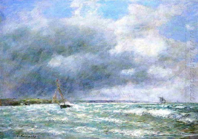 The Stranded Boat 1889