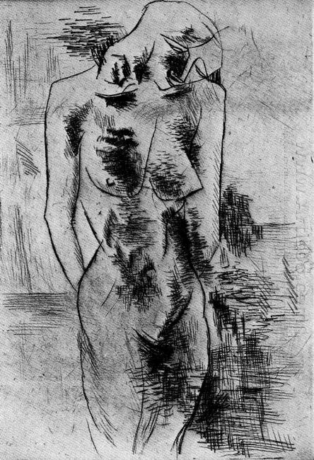 The Study Of Nude 1906