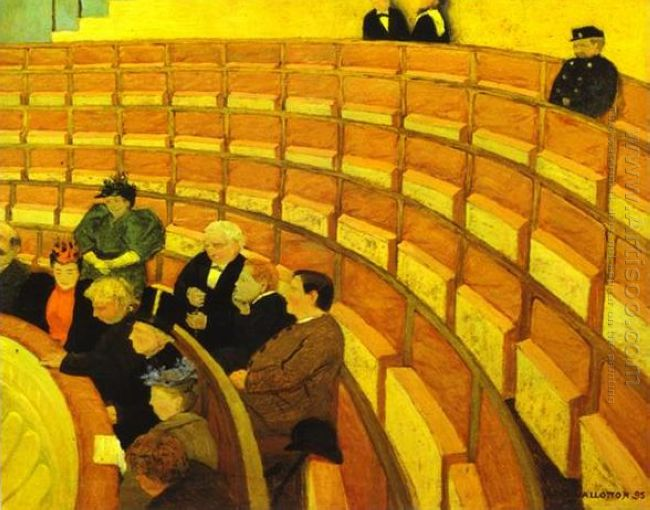 The Third Gallery At The Theatre 1894