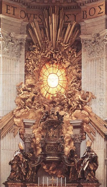 The Throne Of Saint Peter 1666