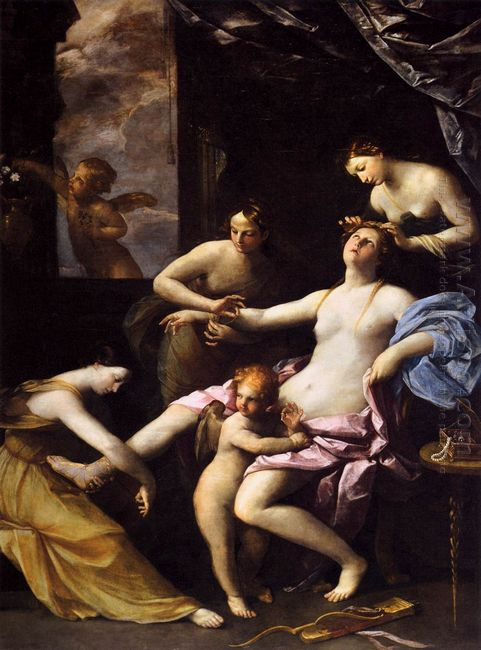 The Toilet Of Venus 1623
