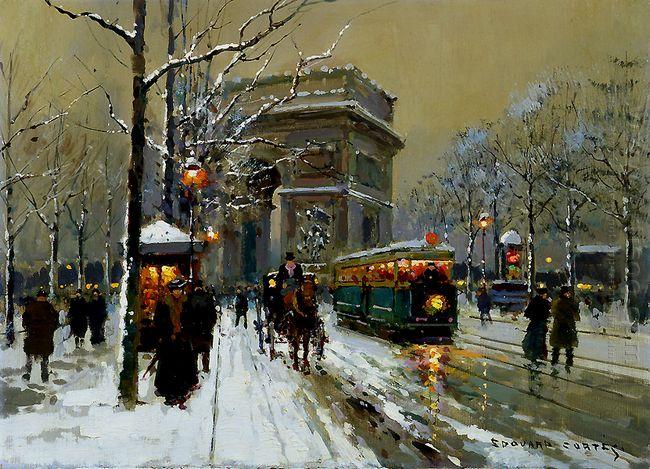 The Triumphal Arc Winter
