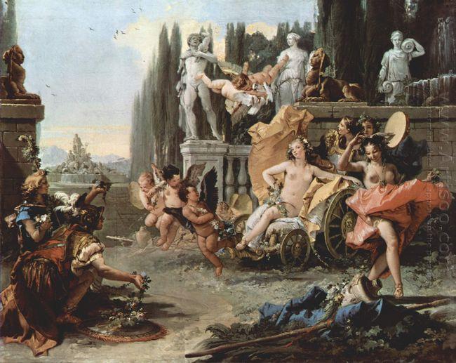 The Triumph Of Flora 1744