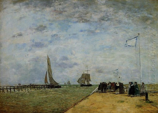 The Trouville Jetty 1867