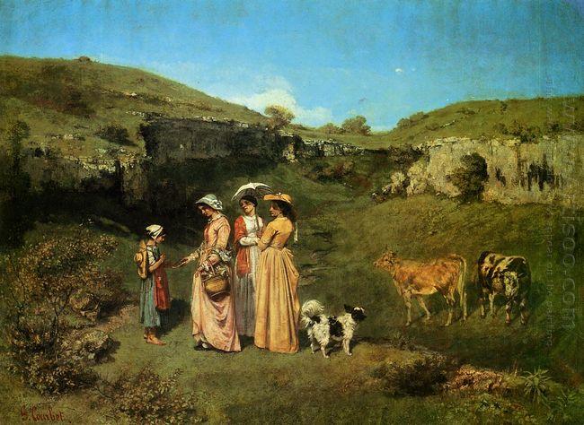 The Village Maidens 1852