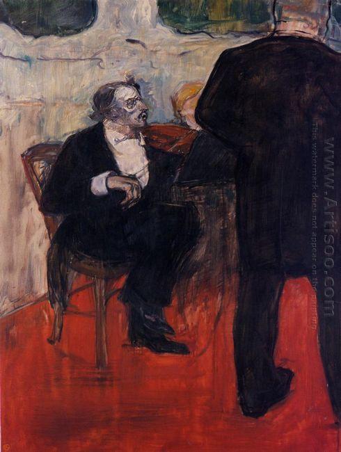 The Violinist Dancia 1900