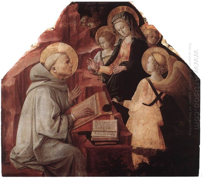 The Virgin Appears To St Bernard 1447