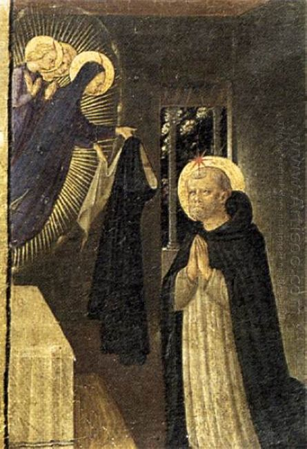 The Virgin Consigns The Habit To St Dominic 1434