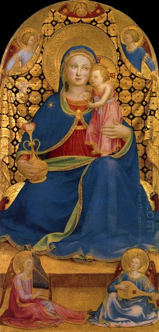 The Virgin Of Humility 1445