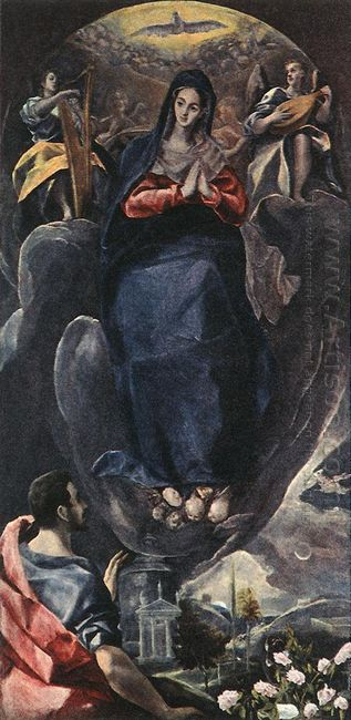 The Virgin Of The Immaculate Conception And St John 1585