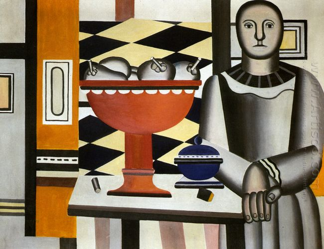The Woman With The Fruit Dish 1924