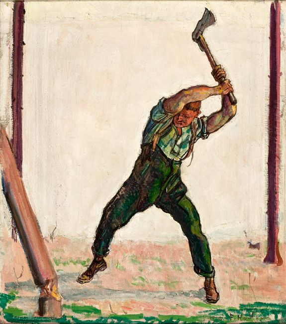 The Woodman 1910