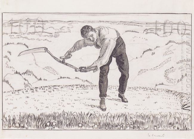 The Working Mower 1909
