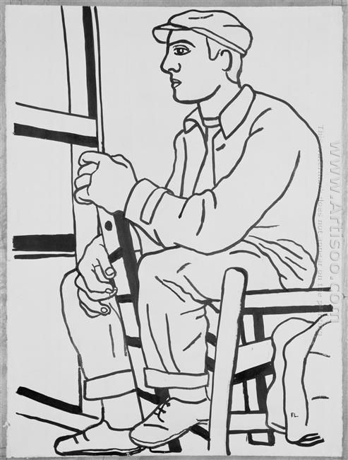 The Workman Sitting