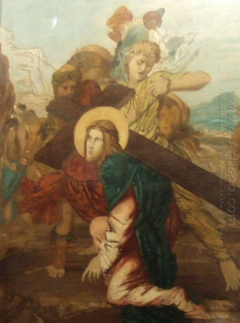 Third Station Of The Cross