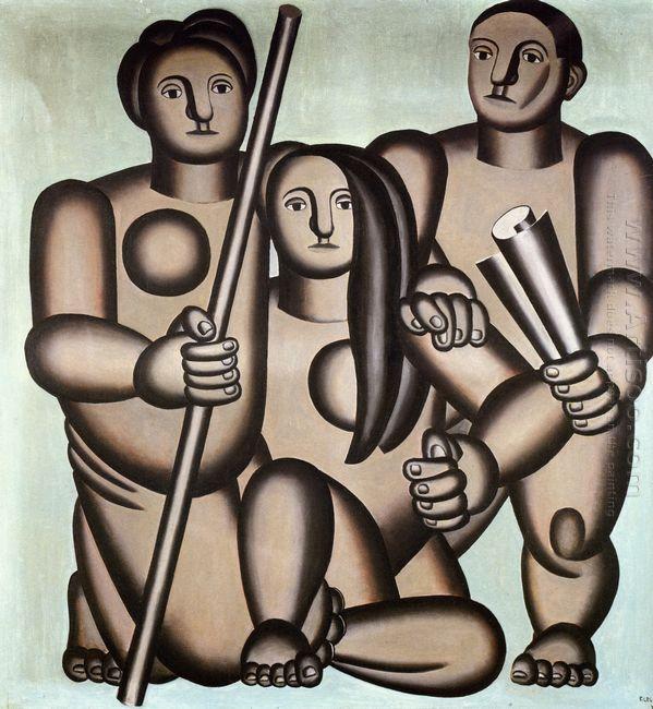 Three Characters 1924