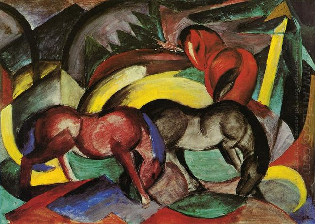 Three Horses 1912