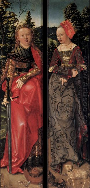 Three Kings Altarpiece Closed 1507