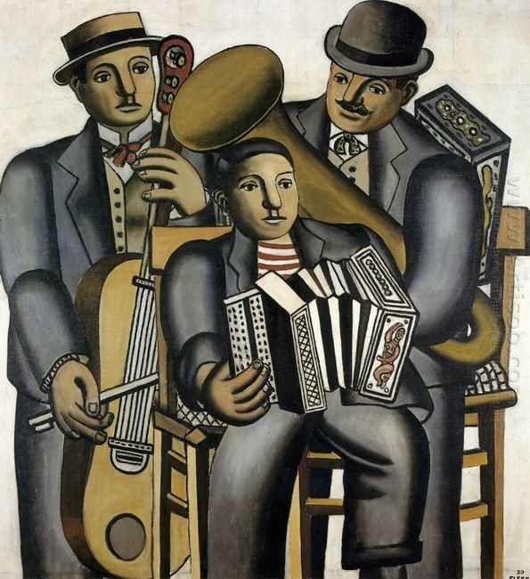 Three Musicians 1930