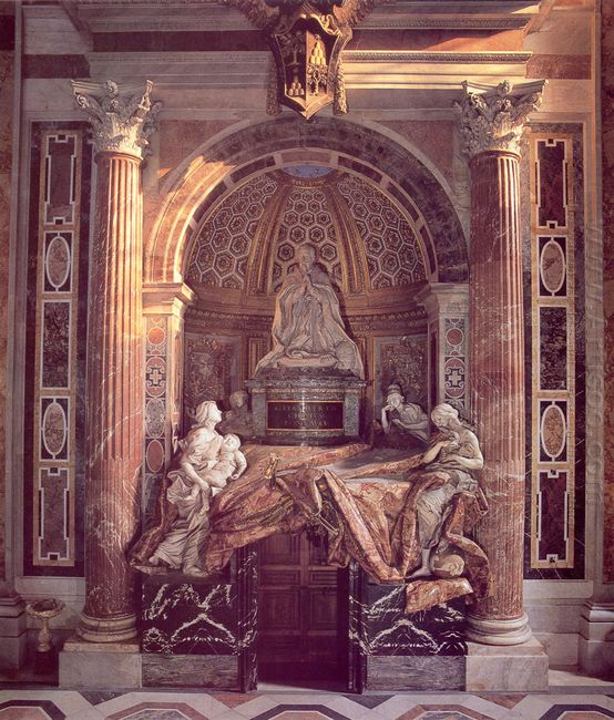 Tomb Of Pope Alexander Vii 1678