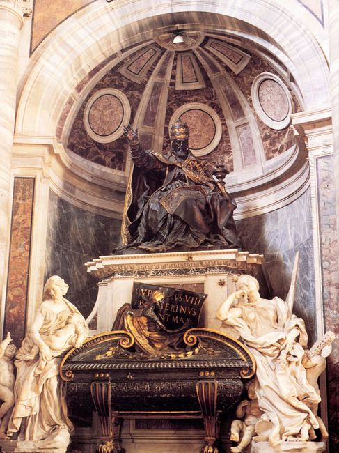 Tomb Of Pope Urban Viii 1647