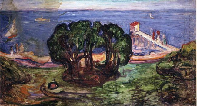Trees On The Shore 1904