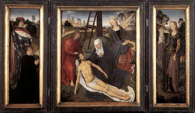 Triptych Of Adriaan Reins 1480