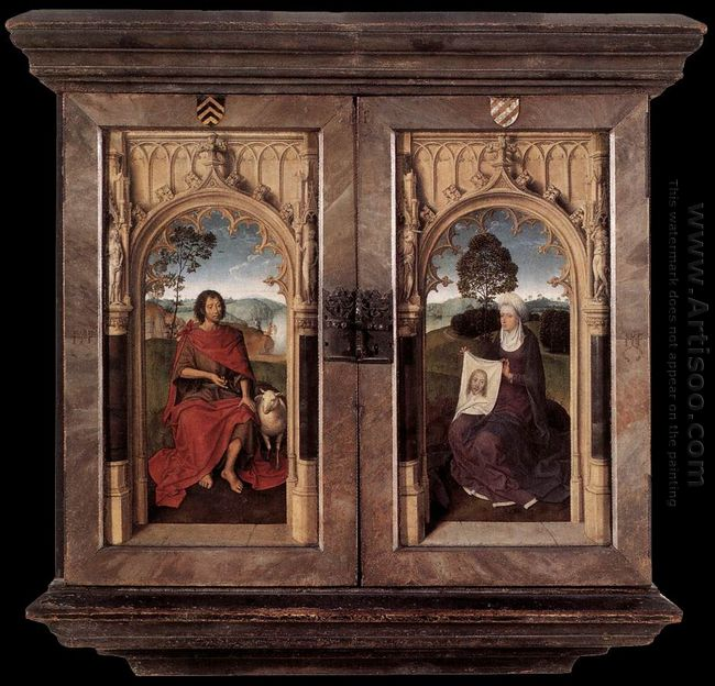 Triptych Of Jan Floreins Closed 1479