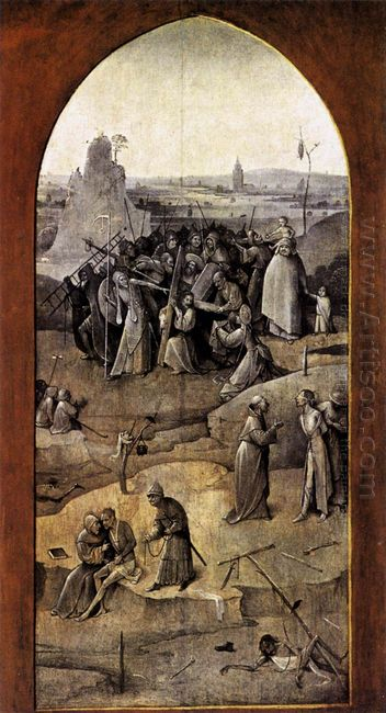 Triptych Of Temptation Of St Anthony 1506 1