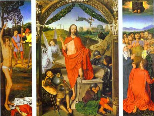 Triptych Of The Resurrection The Resurrection Centre The Martyrd