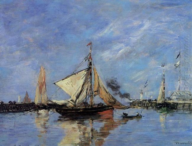 Trouville The Jettys High Tide 1890