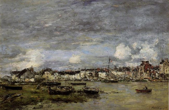 Trouville The Port 1864